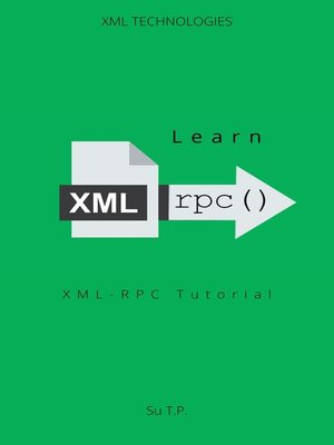 cover image of Learn XML--RPC