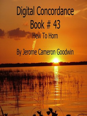 cover image of Hew to Horn--Digital Concordance Book 43