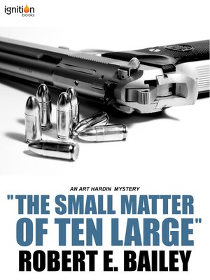 "cover image of ""The Small Matter of Ten Large"""