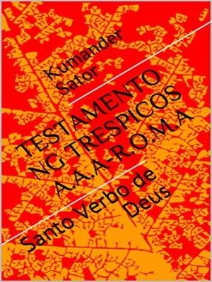cover image of Testamento ng Trespicos AAA--ROMA