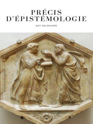 cover image of Précis d'épistémologie