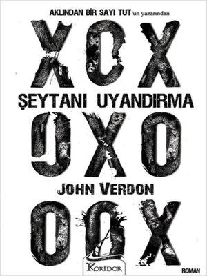 cover image of Şeytanı Uyandırma -John Verdon