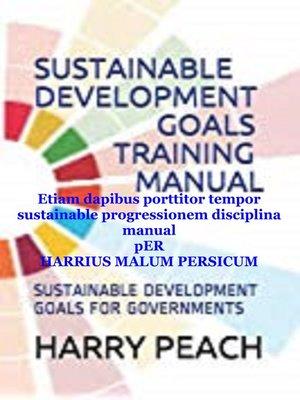 cover image of Etiam Dapibus Porttitor Tempor Sustainable Progressionem Disciplina Manual
