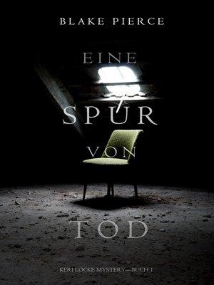 cover image of Eine Spur von Tod