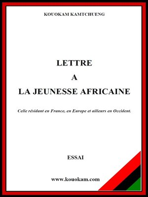 cover image of LETTRE a LA JEUNESSE AFRICAINE