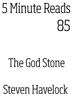 cover image of The God Stone