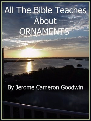 cover image of ORNAMENTS