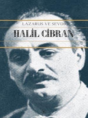 cover image of Lazarus ve Sevdiği