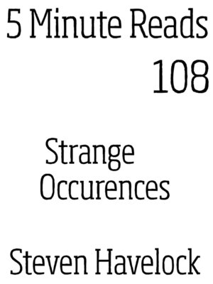 cover image of Strange Occurences