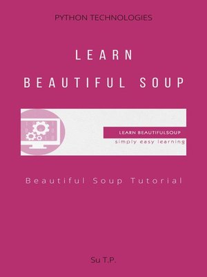 cover image of Learn Beautiful Soup
