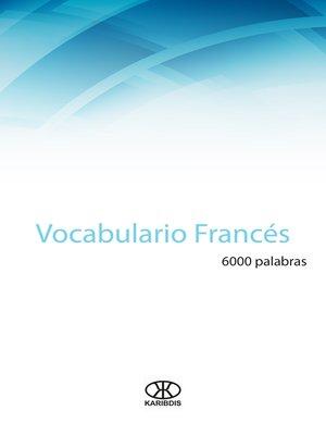 cover image of Vocabulario francés