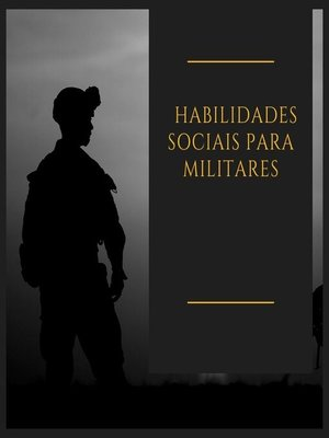 cover image of Habilidades sociais para militares