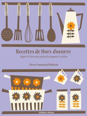 cover image of Recettes de Hors-d'oeuvre
