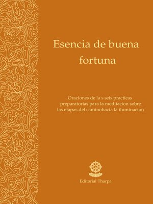 cover image of Esencia de buena fortuna