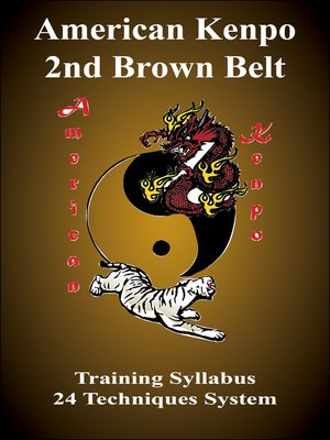 cover image of American Kenpo 2nd Brown Belt Training Syllubus