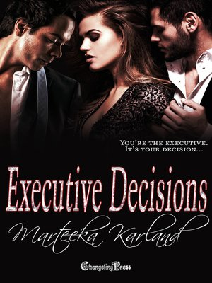 cover image of Executive Decisions, Book 5