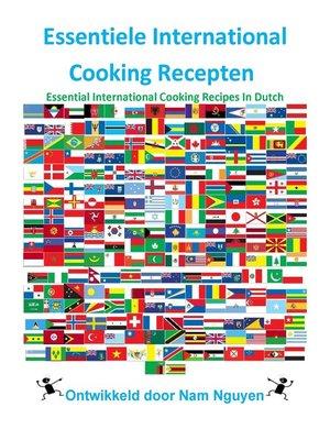 cover image of Essentiele International Cooking Recepten