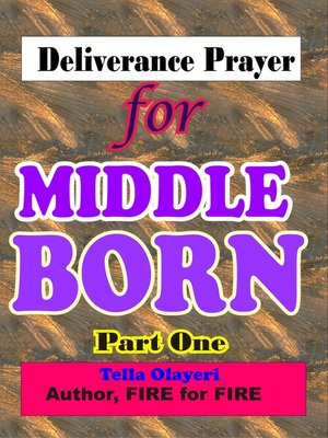 cover image of Deliverance Prayer for Middle Born