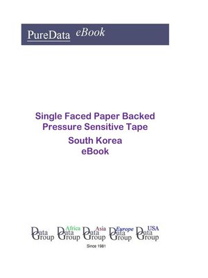 cover image of Single Faced Paper Backed Pressure Sensitive Tape in South Korea