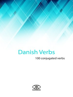 cover image of Danish verbs