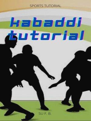 cover image of Kabaddi Tutorial
