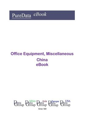 cover image of Office Equipment, Miscellaneous in China