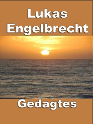 cover image of Gedagtes