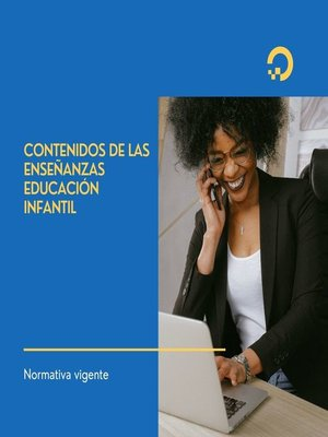 cover image of CONTENIDOS DE LAS ENSEÑANZAS  EDUCACIÓN INFANTIL