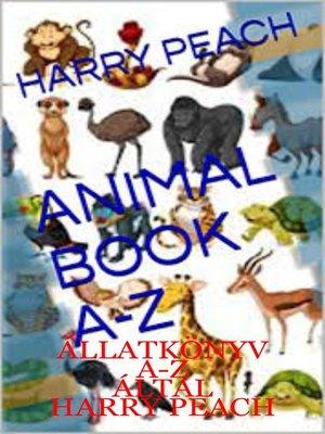 cover image of ÁLLATKÖNYV A-Z