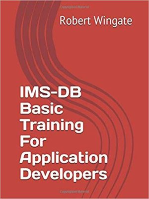 cover image of IMS-DB Basic Training For Application Developers