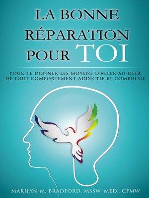 cover image of La bonne réparation pour toi