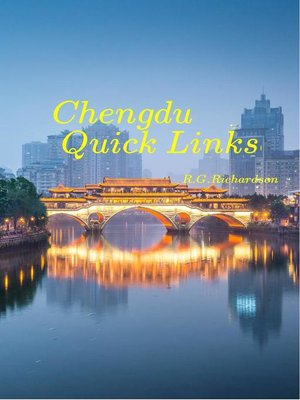 cover image of Chengdu Interactive City Guide