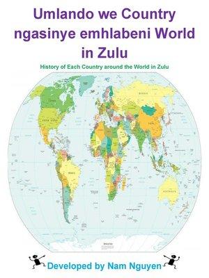 cover image of Umlando we Country ngasinye emhlabeni World in Zulu