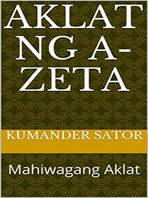 cover image of Aklat ng A-Zeta