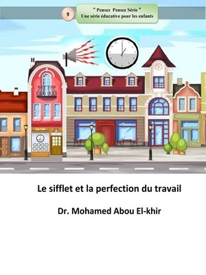 cover image of Le sifflet et la perfection du travail