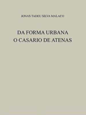 cover image of DA FORMA URBANA