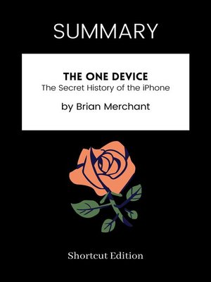cover image of SUMMARY--The One Device