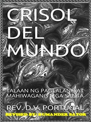 cover image of CRISOL DEL MUNDO