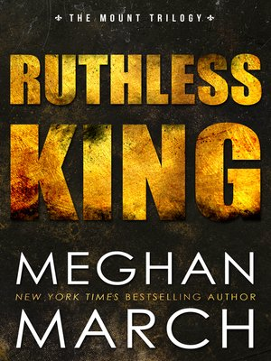 cover image of Ruthless King