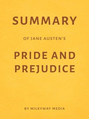 cover image of Summary of Jane Austen's Pride and Prejudice