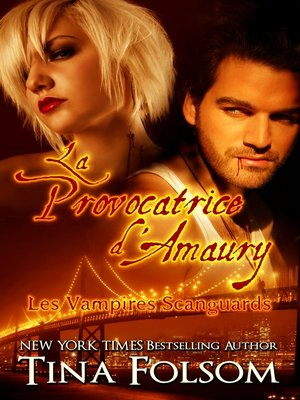 cover image of La provocatrice d'Amaury