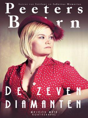 cover image of De zeven diamanten