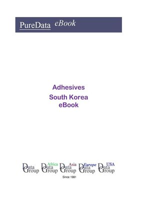 cover image of Adhesives in South Korea