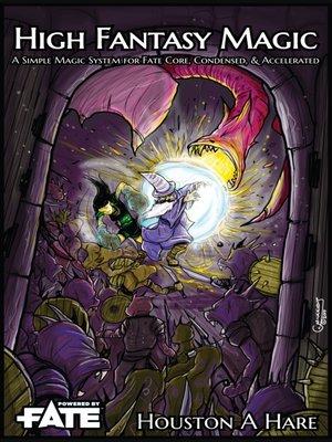 cover image of High Fantasy Magic
