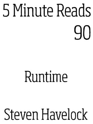 cover image of Runtime