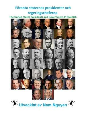 cover image of Förenta staternas presidenter och regeringscheferna