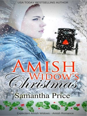 cover image of Amish Widow's Christmas