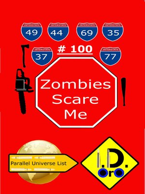 cover image of Zombies Scare Me 100