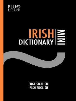 cover image of Irish Mini Dictionary
