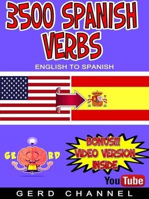 cover image of 3500 Spanish Verbs